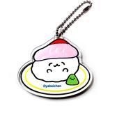 鰤魚壽司款【日本進口正版】脫力系壽司 壽司 日本製 壓克力 吊飾 擺飾 - 611420