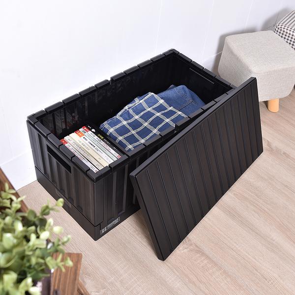 樹德/收納/貨櫃收納椅/置物箱【FB-6432】貨櫃收納椅 二色 MIT