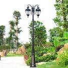 歐式庭院燈防水led草坪燈超亮戶外景觀高...