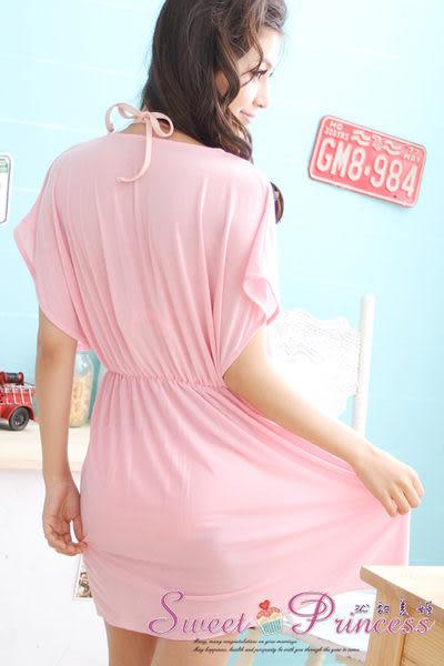 泳衣配件  深V款比基尼外搭罩衫 - 戀上海邊(粉) -沁甜美姬