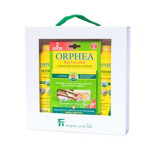 歐菲雅Orphea防蛀蟲洗衣精及防蟑掛耳組義大利進口