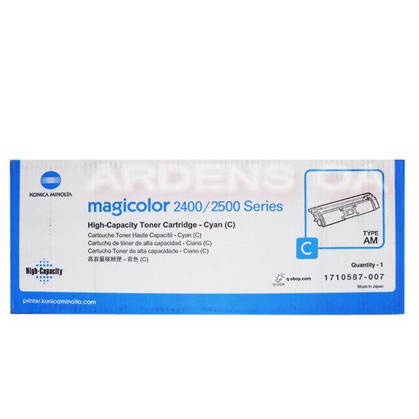 【免運】KONICA MINOLTA 2400W/DL/2480MF 原廠彩色高容量碳粉 型號1710587-007(6)(5)-適用magicolor 2500/2430DL/2400W