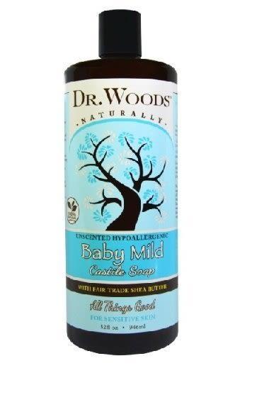 Dr. Woods  液態皂/潔膚露   乳油木果配方  (嬰兒無香)