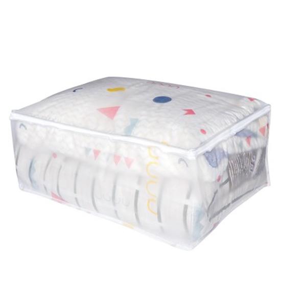 透明 棉被袋 防塵袋 打包 行李袋 搬家 換季 防塵 收納  幼稚園 卡通 EVA棉被收納袋 【Q007】MY COLOR