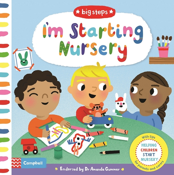 Big Steps:I'm Starting Nursery 生活練習:開始上幼稚園 操作書