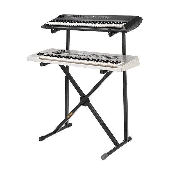 【金聲樂器廣場】 全新 HERCULES KS210B / KS-210B 雙層鍵盤架