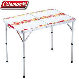 【偉盟公司貨】丹大戶外【Coleman】可換面板休閒桌(90*60*40(70)cm) 折疊桌/兩段式調整 CM-26748