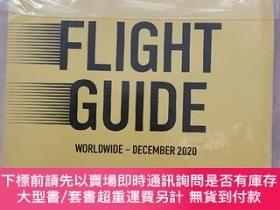 二手書博民逛書店OAG罕見FLIGHT GUIDE WORLDWIDE-DECEMBER 2020(OAG全球飛行指南2020年1