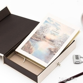 密碼本子小學生多功能筆記本帶鎖兒童秘密日記本成人小清新復古文藝【東京衣秀】