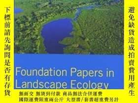 二手書博民逛書店Foundation罕見Papers In Landscape EcologyY364682 Wiens, J