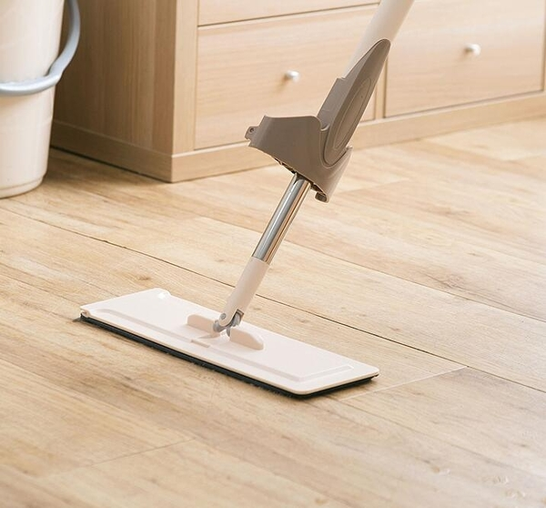 拖把 免手洗拖把家用一拖干濕兩用懶人擠水地板拖平板拖地拖布凈TW【快速出貨八折下殺】