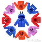 新款兒童輕薄款羽絨棉服小童棉衣冬裝棉襖男童女寶寶嬰兒外套 深藏blue