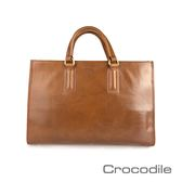 Crocodile Naturale Collection 2.0 方形公事包0104-07708