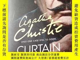 二手書博民逛書店阿加莎系列罕見幕後黑手 電視配套版 Poirot CURTAIN Poirot s Last CaseY154