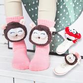 大玩偶立體動物泡泡襪 兒童襪 大公仔 泡泡長襪