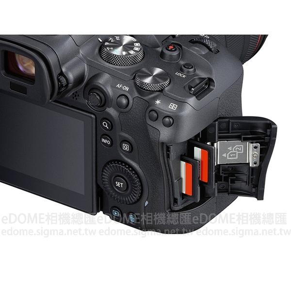 CANON EOS R6 BODY 全片幅 單機身 (24期0利率 免運 公司貨) 微單眼數位相機 20fps連續拍攝