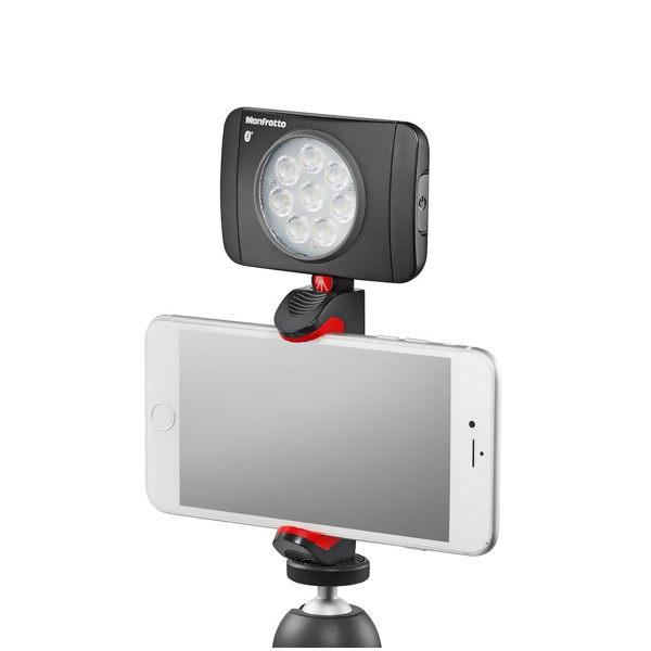 曼富圖 Manfrotto PIXI Universal Clamp 新款 手機夾 MCPIXI 【正成公司貨】不含燈及腳架