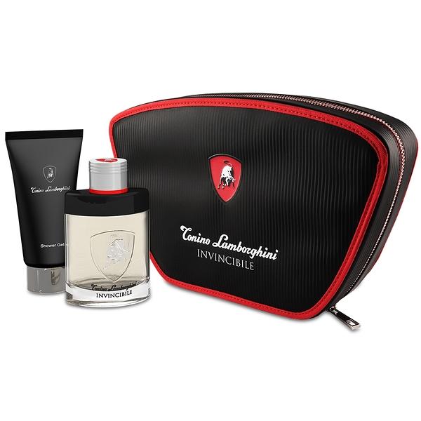 Lamborghini 藍寶堅尼 戰神覺醒 男性淡香水 隨身旅行組(淡香水75ml+沐浴膠100ml)【Emily 艾美麗】