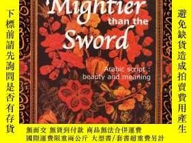 二手書博民逛書店Mightier罕見Than the Sword: Arabic