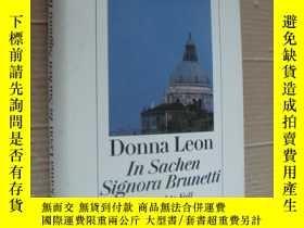 二手書博民逛書店In罕見Sachen Signora Brunetti:Der