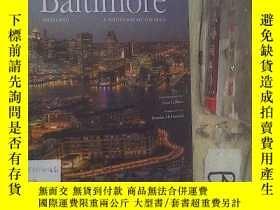 二手書博民逛書店BALTIMORE罕見MARYLAND A PHOTOGRAPHIC PORTRAIT 巴爾的摩馬裏蘭攝影肖像