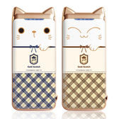[富廉網] 【PROBOX】Panasonic電芯 蘇格蘭貓限定款 6700mAh 行動電源 H6700 藍/咖啡