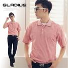 【大盤大】GLADLUS 男 M號 46號 短袖POLO 透氣 休閒衫 百貨專櫃 旅遊 專業 喜慶 實用 紳士 禮物