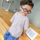 0-1-2歲男童裝夏季兒童上衣寶寶T恤  百姓公館