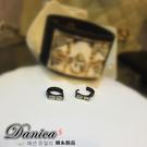 耳環 現貨 專櫃熱賣 時尚簡約水晶鋼易扣耳環 Y1176  批發價 Danica 韓系飾品 韓國連線