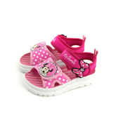 Disney Minnie Mouse 迪士尼 米妮 涼鞋 桃紅色 中童 童鞋 D118144 no111
