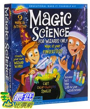 [105美國直購] Scientific Explorer Magic Science Kit for Wizards Only