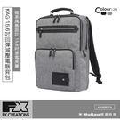 FX CREATIONS 側背包 KAG系列 15.6吋回彈減壓電腦背包 淺灰 KAG69637A-21 得意時袋