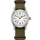 Hamilton漢米爾頓 卡其野戰系列軍事機械腕錶 H69439411