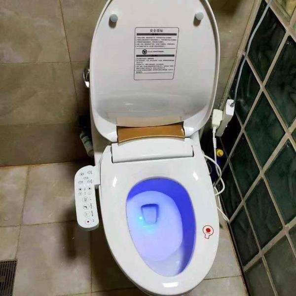 馬桶蓋 智慧馬桶蓋板家用全自動沖洗即熱型家用潔身坐便器蓋板