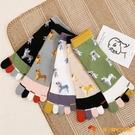 3雙裝 五指襪女秋冬可愛日系分趾襪長筒棉襪長襪【小獅子】