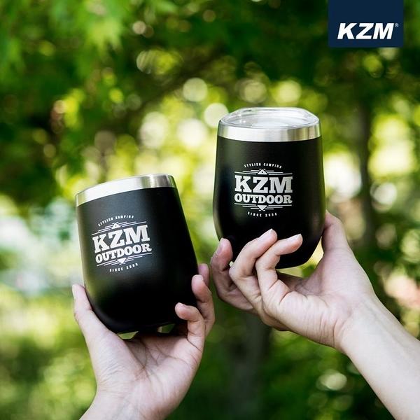 丹大戶外【KAZMI】KZM 不鏽鋼蛋型真空保溫杯2入組 登山/戶外 K9T3K010