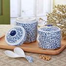 青花瓷陶瓷燉盅帶雙蓋家用隔水燕窩燉盅釉下彩湯盅燉煲中式【快速出貨】