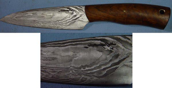 郭常喜與興達刀具--郭常喜限量手工刀品-小獵刀(A0044)