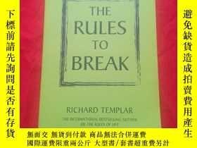 二手書博民逛書店The罕見Rules to Break: A Personal