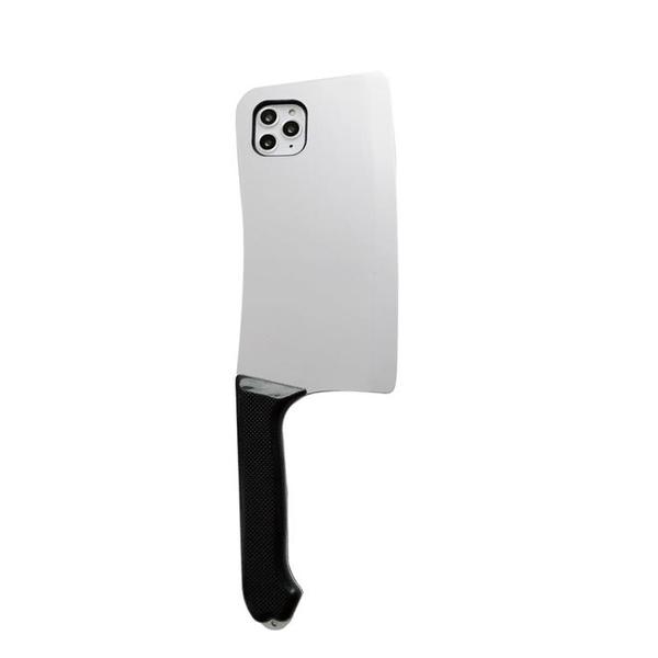 抖音同款菜刀造型適用蘋果11手機殼