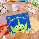 正版授權 迪士尼立體卡片 玩具總動員 三眼怪 小卡片 生日卡片 萬用卡片 卡片 COCOS DA030