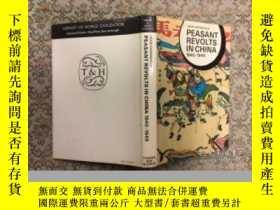 二手書博民逛書店Peasant罕見Revolts in China, 1840-