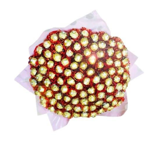 娃娃屋樂園~100%的愛-100枝金莎分享花束 每束2500元/婚禮小物/謝親恩/送客禮