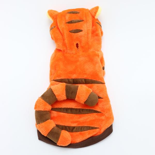 【PET PARADISE 寵物精品】DISNEY POOH跳跳虎連帽變身裝 (4S/DSS/SS/DS) 狗衣服 寵物衣服