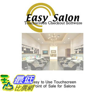 [106美國暢銷兒童軟體] Salon Point of Sale Checkout Software; Inventory Management Control Touchscreen Point