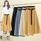 大尺碼半身裙 不規則裙子L-4XL胖MM...