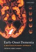 二手書博民逛書店《Early-onset Dementia: A Multidisciplinary Approach》 R2Y ISBN:0192630342