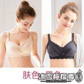 懷孕期舒適防下垂純棉聚攏有型孕婦文胸薄婧麒哺乳內衣女胸罩喂奶