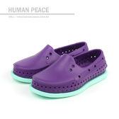 native HOWARD CHILD 懶人鞋 洞洞鞋 防水 雨天 紫色 小童 童鞋 13101100-5296 no370