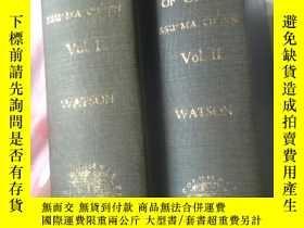 二手書博民逛書店records罕見of the grand historian 史記英文版 漢代部分Y398159 burto